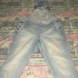Jean overalls
